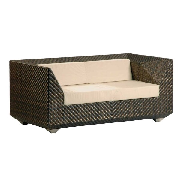 AL.Rose Ocean Maldives Sofa 2 seats w/cushions