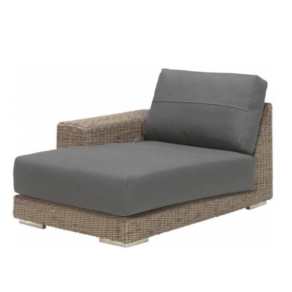 4 Seasons Kingston Modulo Chaise-Lounge Dirtº C/2 Alm.- Pure