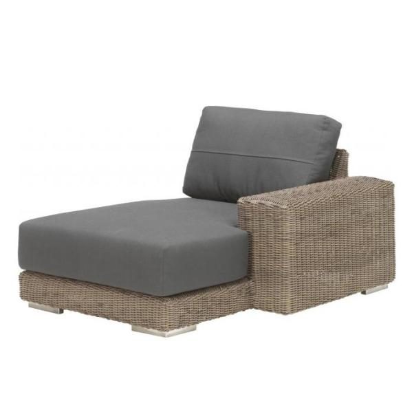4 Seasons Kingston Modular Chaise-Longue Left. w/2 Cushions