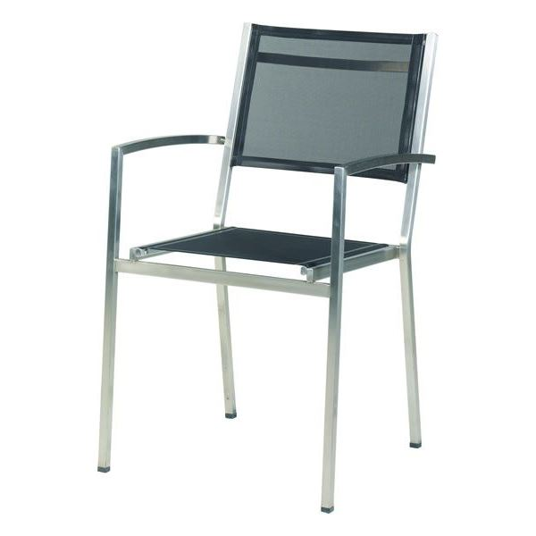 4 Seasons Plaza Stackable chair - Black