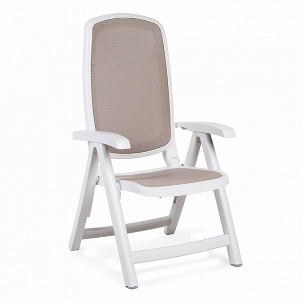 Jofix Delta Chair White - Tortora