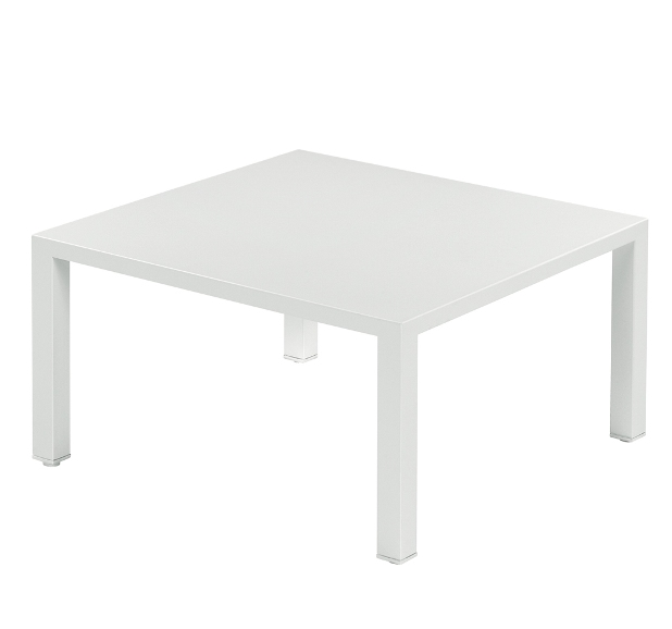 Emu Round Coffee Table  80x80 - White