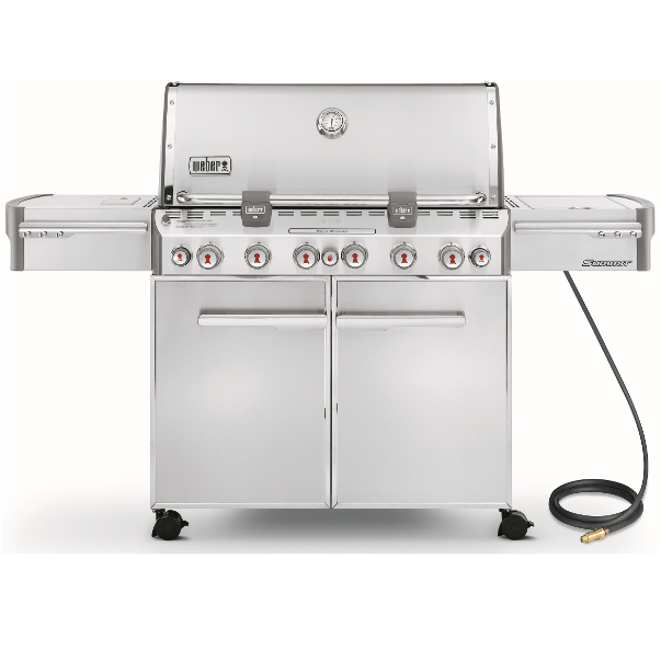 Weber Gás BBQ Summit S670 Inox 6 Burners