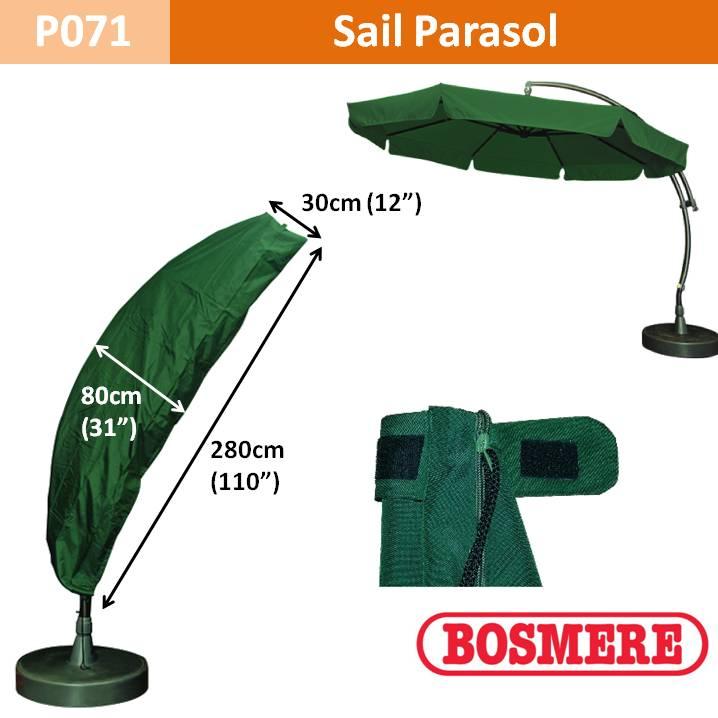 Bosmere Parasol Cover (Sail) 280Hx80D