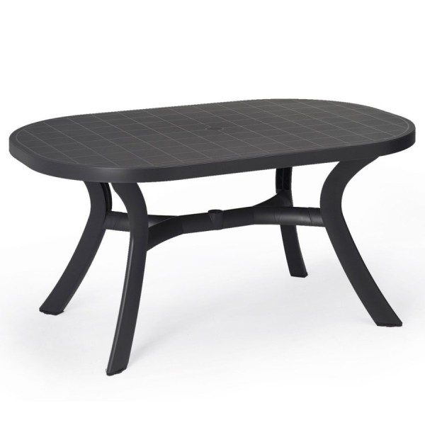 Jofix Toscana 145 Oval Table Anthracite
