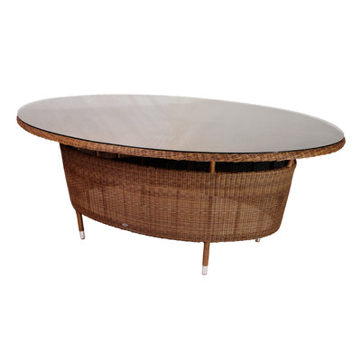 AL.Rose San Marino Oval Table 200x150cm