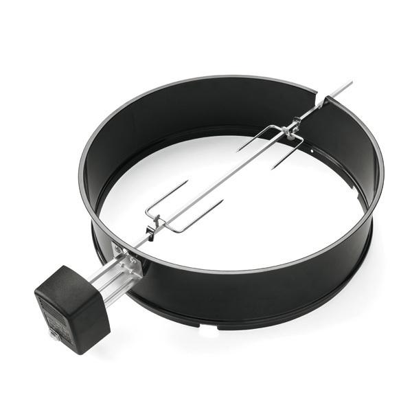 Weber Assador Giratório p/ Carvão 57cm