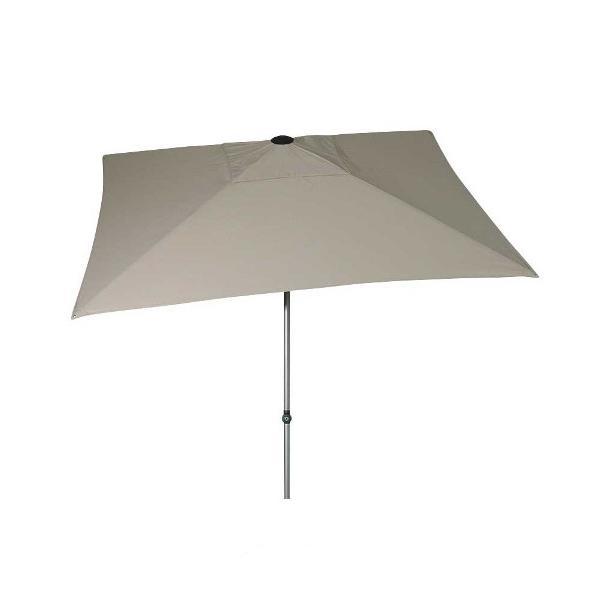 Zangenberg Solvida Push Parasol Polyester 210x210 - Bege