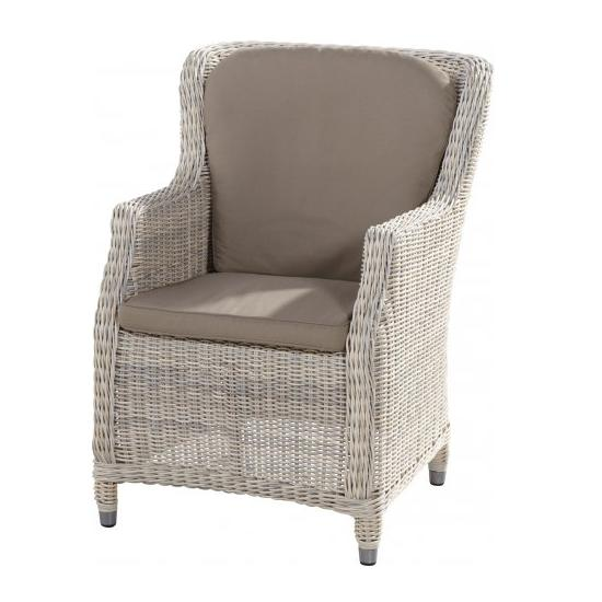 4 Seasons Brighton Dining Chair w/ cushion - Provance