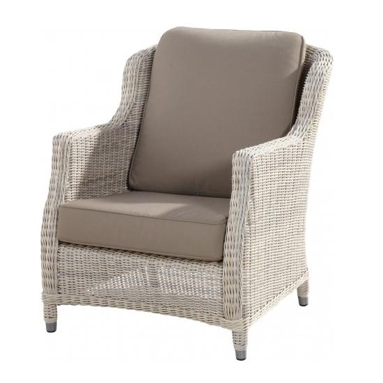 4 Seasons Brighton Living Chair w/ 2 cushions - Provance