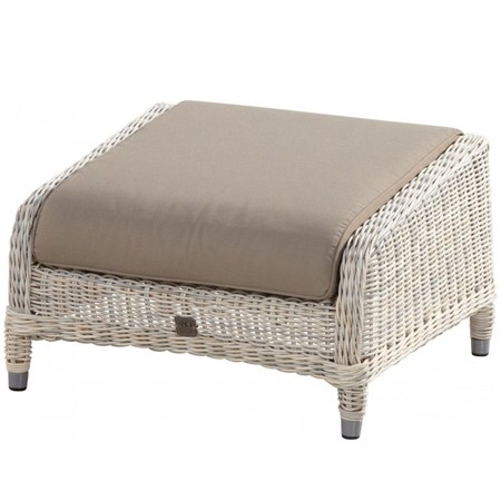 4 Seasons Brighton Footstool w/ cushion - Provance