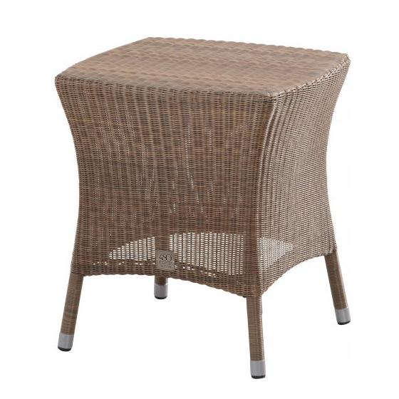 4 Seasons Sussex End Table 50x50 - Poly. Taupe