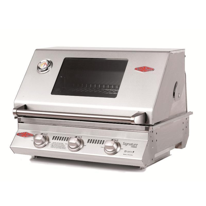 Beefeater S3000S 3B BBQ & Hood (stainless steel)