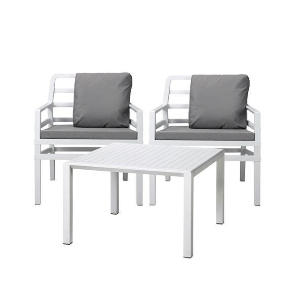 Jofix Aria Side Table 60 x 60 White