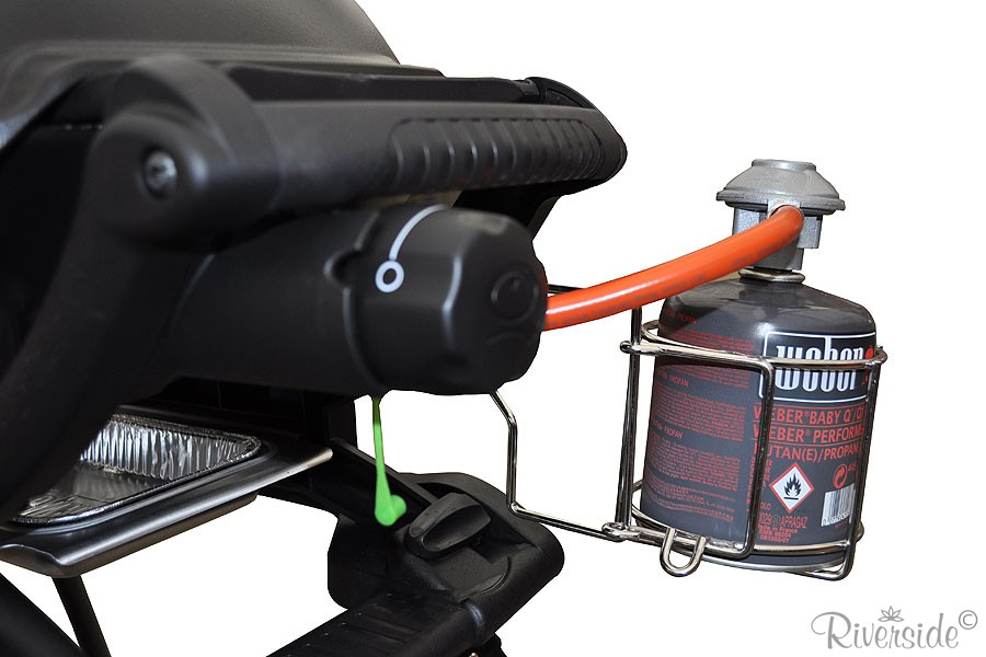 Weber BBQ Gás Q 1200 Preto