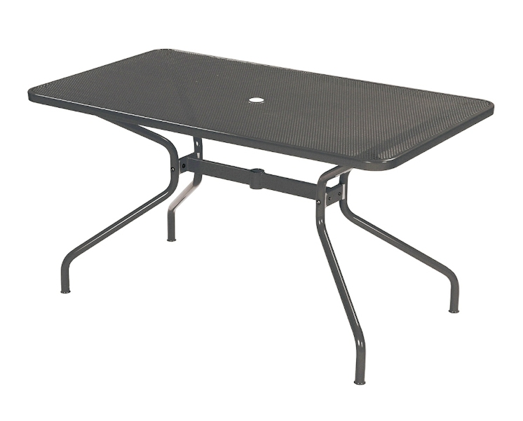 Emu Set Cambi Table 160x80 + 6x Alas - Antracite