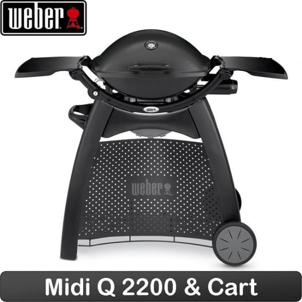 Weber Deluxe Trolley for Q series 2000