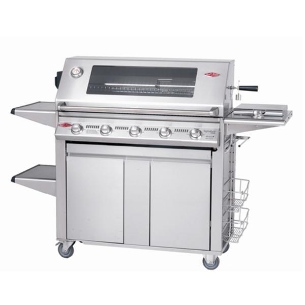 Beefeater S3000S 5B BBQ & Hood + Cabinet Trolley & Side Burn