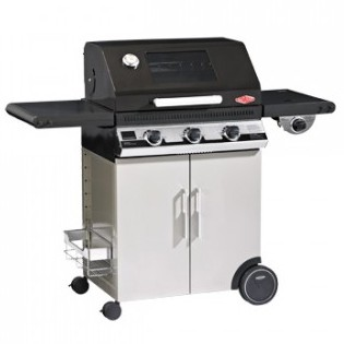Beefeater 1100E Plus 3B BBQ & Hood + Cabinet Trolley & S.Bur