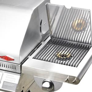 Beefeater 1100S Premium BBQ 4 Queim. Camp.+Carrinho e Q.Lat