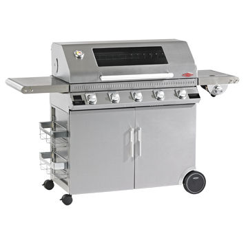 Beefeater 1100S Premium 5B BBQ & Hood+Cabinet Trolley & S.Br