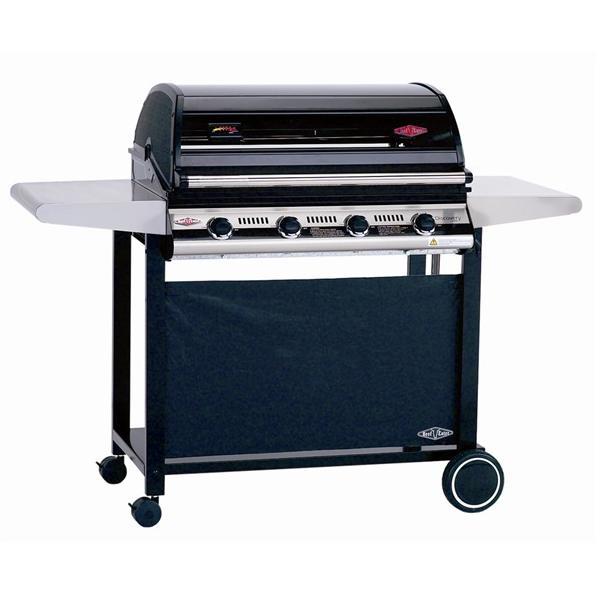 Beefeater 1000R 4B BBQ & Hood+ Metal Trolley