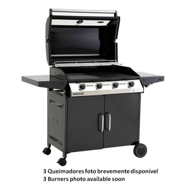 Beefeater 1000R 3B BBQ & Hood+ Cabinet Trolley & Side Burner