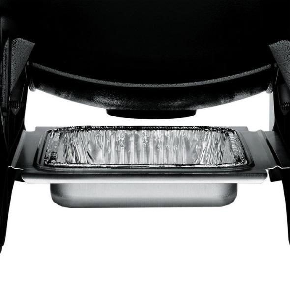 Weber BBQ Eléctrico Q 1400 Antracite + Carrinho Dobrável
