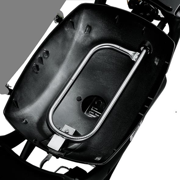 Weber Gas BBQ Q 1200 Black + Folding Trolley