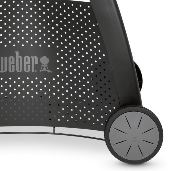 Weber Gás BBQ Q 2200 Black + Deluxe Trolley