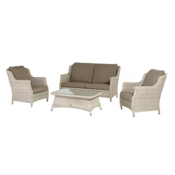 4 Seasons Brighton Sofa 2.5 Seaters C/ 4 Cushions - Provance