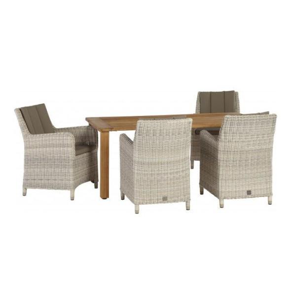 4 Seasons Indigo Cadeira C/ 2 Almofadas - Provance