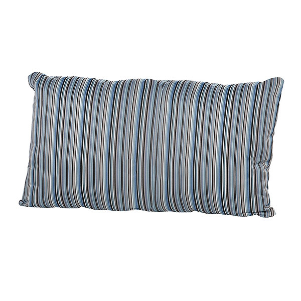 4 Seasons Pillow W/ Zipper 30x60 Bray Blue