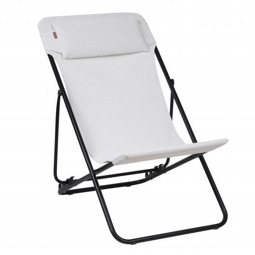 Lafuma Transluxe XL low Folding Chair - Ecume