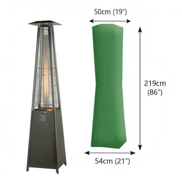 Bosmere Patio Heater Square Cover (210x57x50)
