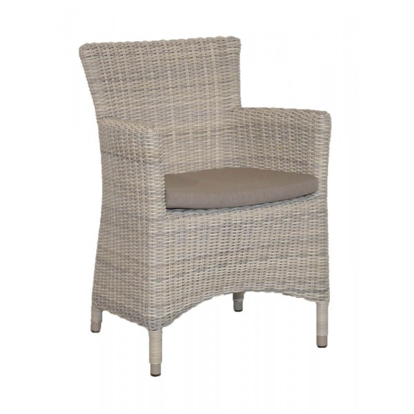 Taste Monza Chair w/cushion Taupe - Elzas