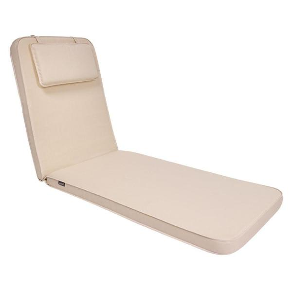 Ezpeleta Sunbed Cushion - Natural