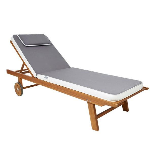 Ezpeleta Sunbed Cushion - Taupe