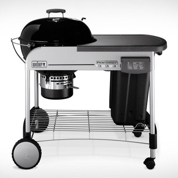 Weber Charcoal BBQ Performer Deluxe Gourmet 57cm GBS - Black