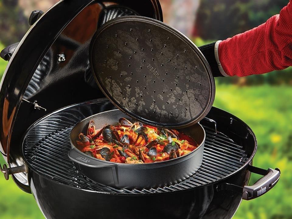 Weber  Gourmet Pan BBQ System