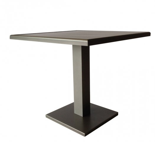 Taste Empire Table 80x80 - Taupe