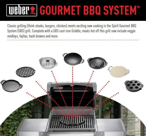 Weber Gourmet BBQ System Sear Grate