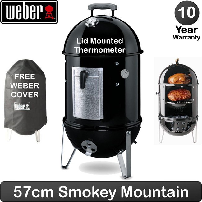 Weber Smokey Mountain ø57cm - Black