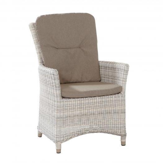 Taste Ancona Chair w/cushions Taupe - Elzas