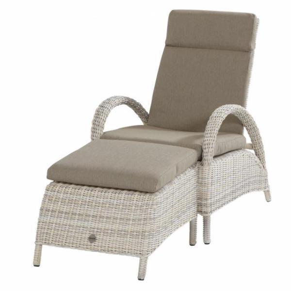 Taste Rimini Relax Chair w/ Footstool - Elzas