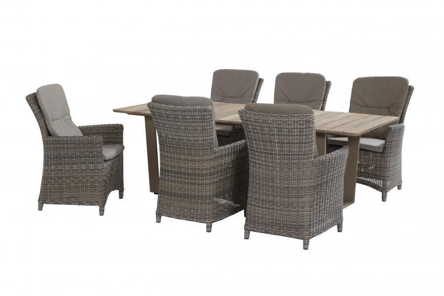 Taste Ancona Chair w/ 2 Cushions - Roca