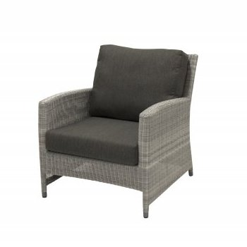4 Seasons Castillo Living Chair - Polyloom Ice