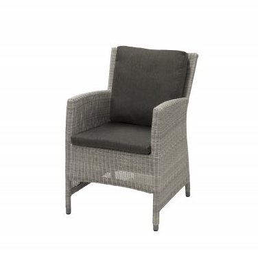 4 Seasons Castillo Chair - Polyloom Ice