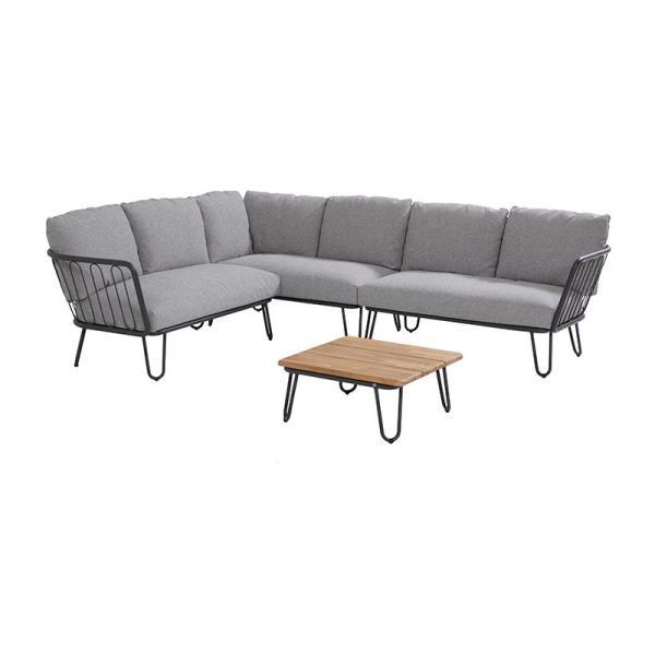 4 Seasons Premium Modular Left Arm w/3 cushions