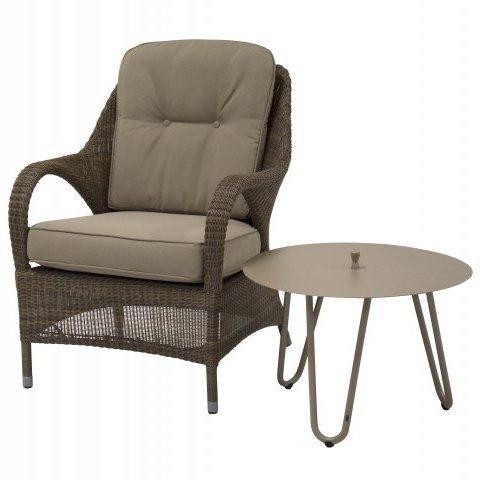 4 Seasons Cool Side Table W/Handle 60 Ø H 45 -Taupe
